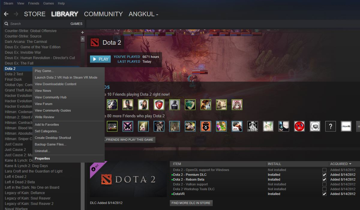 Steam Dota2Thailand
